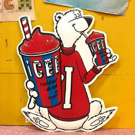 ICEE Bear Metal Sign
