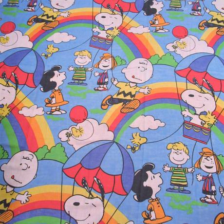 Peanuts Sheet Rainbow