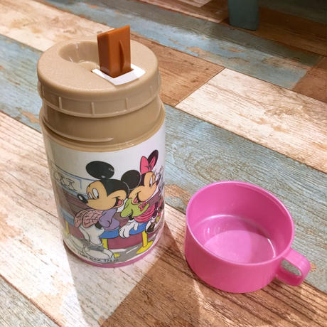 Aladdin Water Bottle Mickey & Minnie Diner
