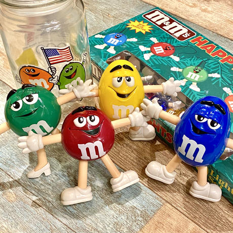 m&m's Figure Blue