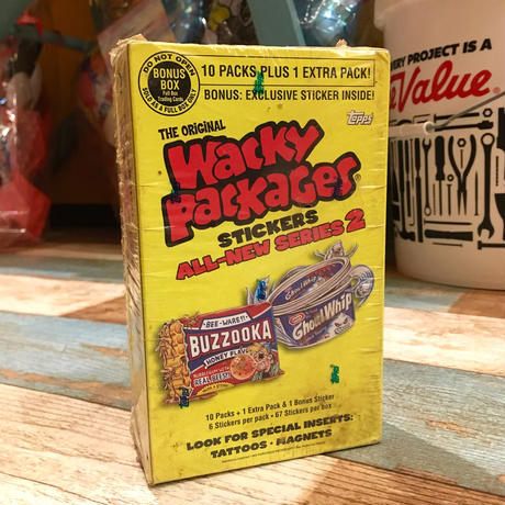 Wacky Package Sticker Bonus Box 2006 MIP