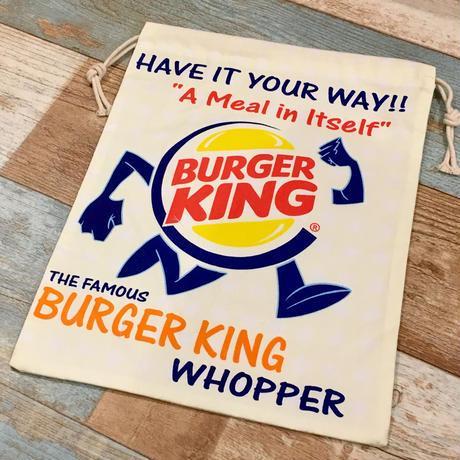 Burger King Drawstring Bag