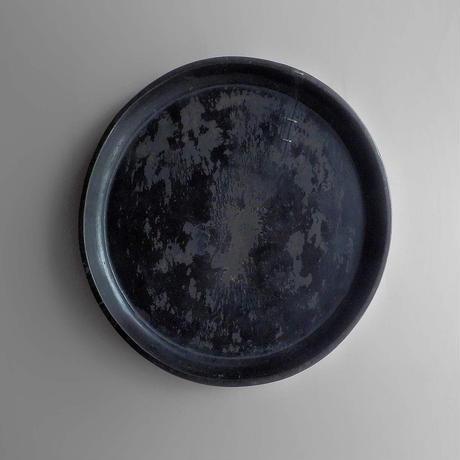NA524 鎹(かすがい)繕いのある漆盆