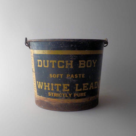 "NA124 Vintage Metal Bucket ""DUCH BOY"""