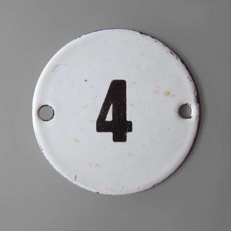 NA507 ハンガリー製 数字プレート④