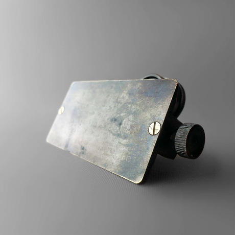 NM657 スライドルーペ付き真鍮製鯨尺