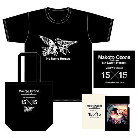 NNH15周年記念●スペシャルセット Tシャツ<モノトーン>+トートバッグ<黒>