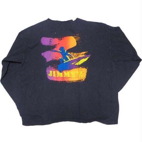 1990's JIMMY'Z (希少なロンTEE)  実寸(L )