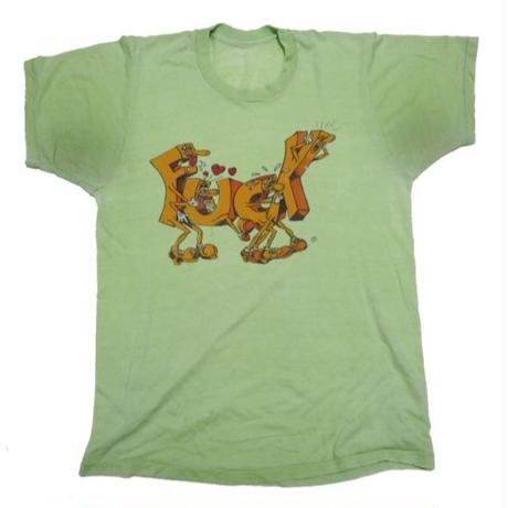 1980's FUCKがFUCKしてるT-shirts 実寸(M)