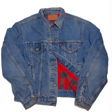 1980's Levi's denim jacket 裏ネルライナー  表記(44L)