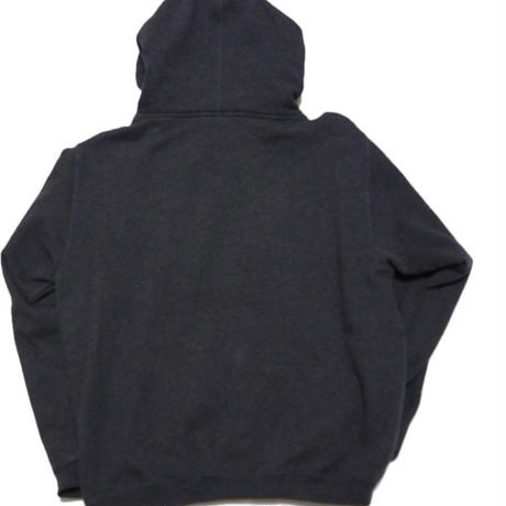 1990's STUSSY 袖プリント sweat hoodie 実寸(XL)