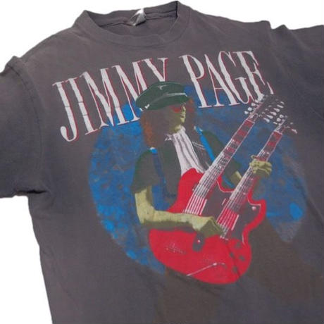 1980's  USA製 JIMMYPAGE Tシャツ 表記(L)