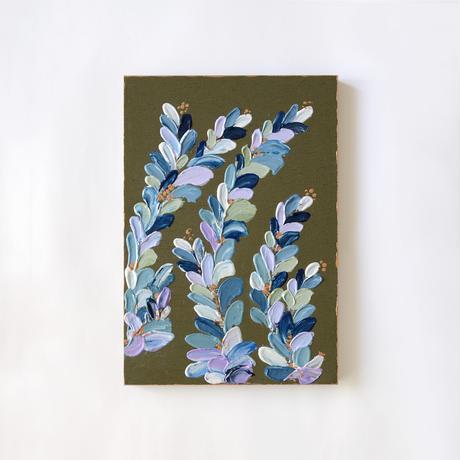<ala yotto> ルームアート「花のよう」  / Olive