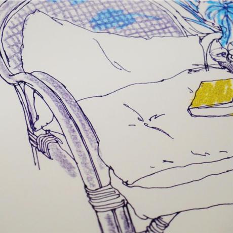 <Mariya Suzuki> ルームアート「Plants」
