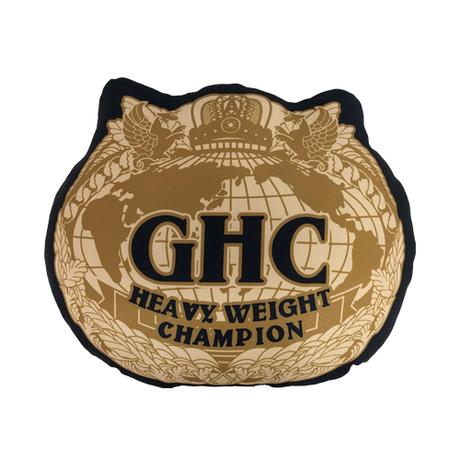 ■GHCチャンピオンベルトクッション