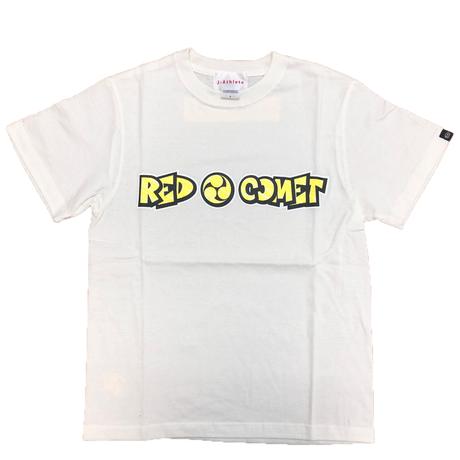 鈴木鼓太郎「RED COMET」コミックフォントTシャツ