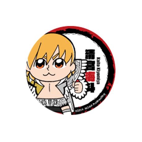 大川ぶくぶ×NOAHコラボ企画 缶バッジセットレッド(4選手)