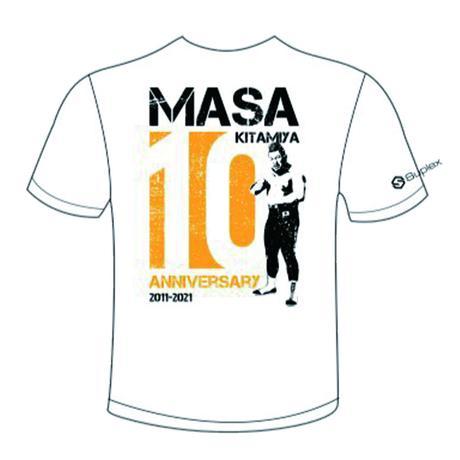 マサ北宮×Suplexコラボ マサ北宮デビュー10周年記念Tシャツ