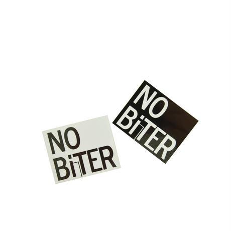 [NOBiTER/ノーバイター]NBロゴステッカー(小)(50ミリ×40ミリ)2枚セット nbt174006