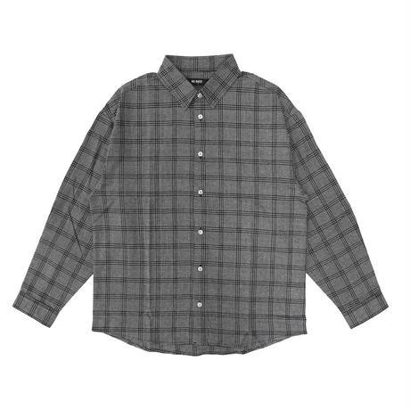 [NOBiTER/ノーバイター]ストライプ・チェックレギュラーカラーシャツ nbt184035