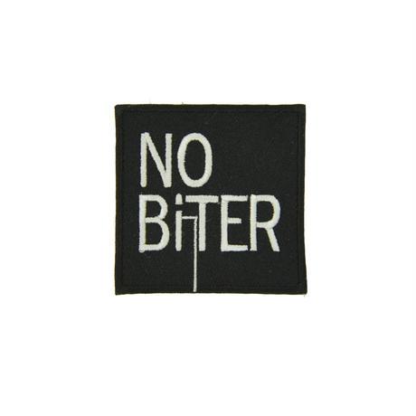 [NOBiTER/ノーバイター]ロゴワッペン(50ミリ×50ミリ) nbt174021