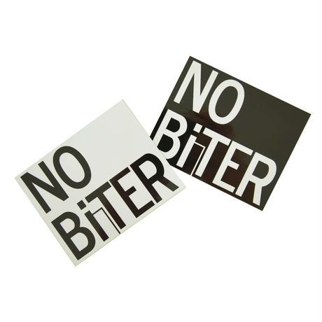 [NOBiTER/ノーバイター]NBロゴステッカー(中)(100ミリ×80ミリ)2枚セット nbt174007