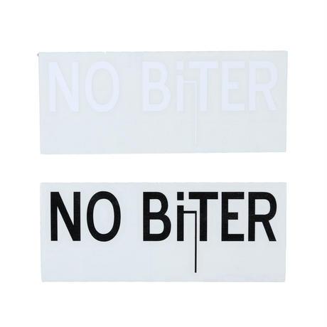 [NOBiTER/ノーバイター]NBロゴカッティングシート(中)(100ミリ×38ミリ)   nbt174030