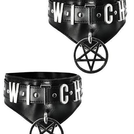 RE-2989 WITCH CUFFS<BLK>
