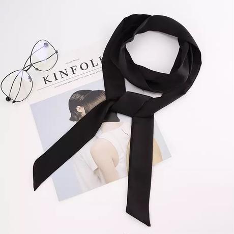 LD-0001  スキニースカーフ<BLK>