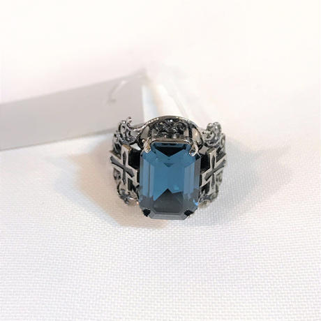 Noach Ring <Dark Saphire/#13>