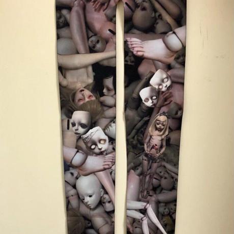 お人形さんタイツ<カラー・モノクロ>