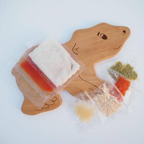 7~8ヶ月頃 おうちごはんセット「さつま芋と鶏ささみの和風粥」