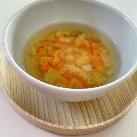 【Bebemeshi okazu】洋風スープの具と野菜出汁セット