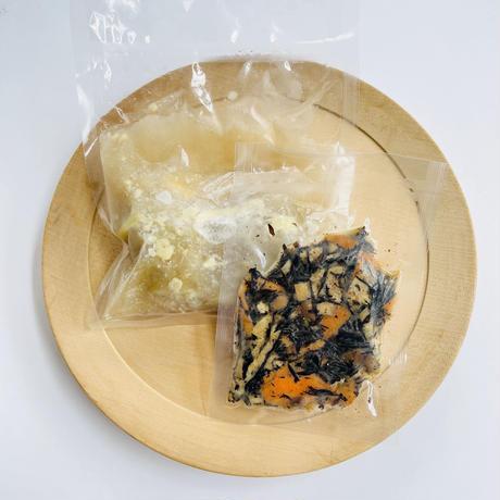 残りわずか!【Bebemeshi kids MEAL SET】和風ロールキャベツ&ひじきの炒め煮
