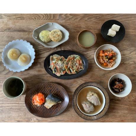 【Bebemeshi kids MEAL SET】夏野菜のトマト煮込み&小松菜のポタージュスープ