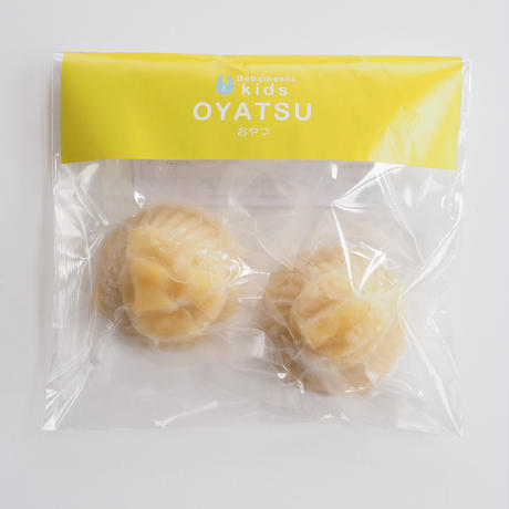 【Bebemeshi kids oyatsu】豆乳メープルゼリー りんごのソース(2つ入り)