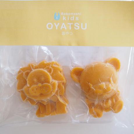 【Bebemeshi kids oyatsu】かぼちゃ羊羹(2個入り)