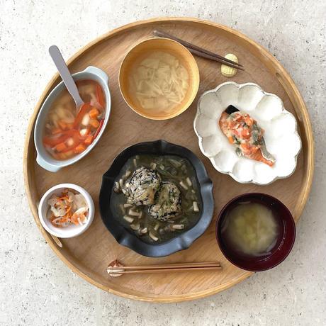 【Bebemeshi kids MEAL SET】鮭のポテサラ焼き&えのきの味噌汁