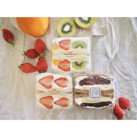 ○2/26-27 発送予定 数量限定 いちご・ミックス・あんバター 3種類セット