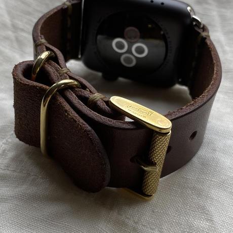 Apple Watch レザーベルト 44mm