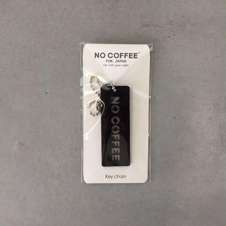 NO COFFEE キーチェーン ブラック
