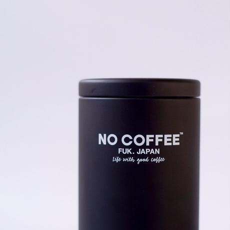 NO COFFEE キャニスター缶(ブラック)