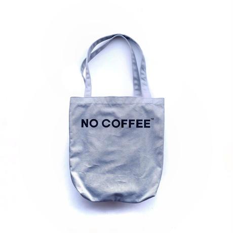 NO COFFEE トートバッグ(グレー)