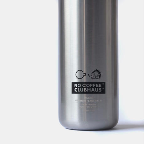 NO GOLF STAINLESS BOTTLE SILVER