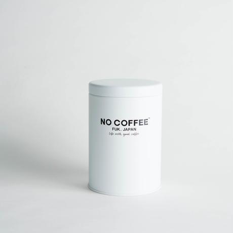 NO COFFEE キャニスター缶(ホワイト)