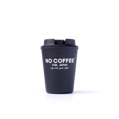 NO COFFEE WALLMUG SLEEK BLACK