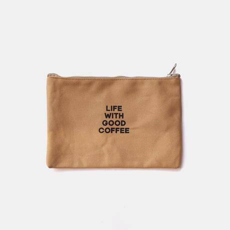 NO COFFEE CANVAS POUCH