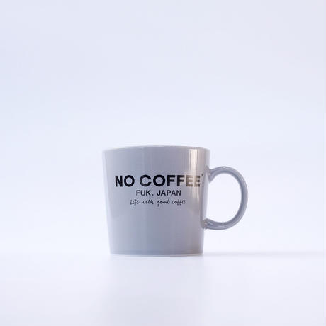 【5月中旬再入荷予定】NO COFFEE マグカップ  (グレー)