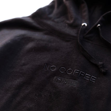 NO COFFEE×MILKFED. BIG SWEAT HD BLACK