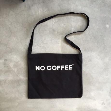 【11月上旬再入荷予定】NO COFFEE SHOULDER BAG (BLACK)